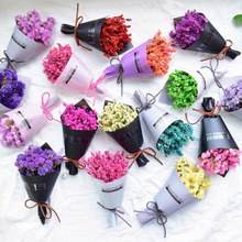 Car Perfume Air Freshen Plant Dry Flower Bouquet Condition outlet Clip Auto Interior Fragrance Diffuser
