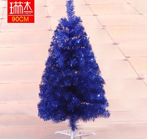 online shop christmas 90cm dark blue christmas tree artificial christmas tree small desk multicolour christmas tree free shipping aliexpress mobile - Small Blue Christmas Tree