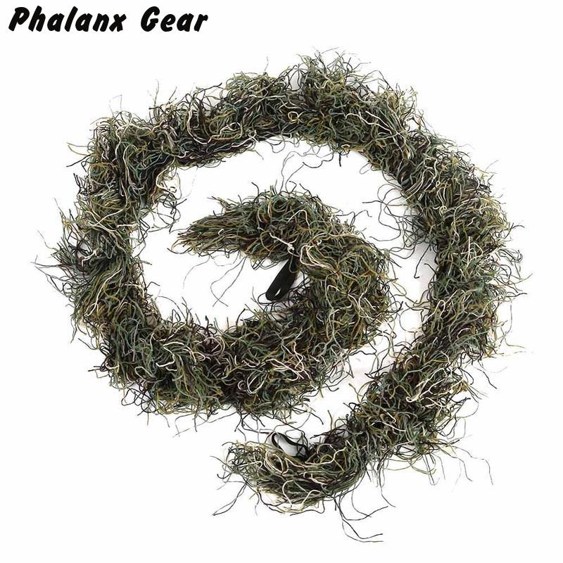 Elastic-Band Ghillie-Suit Forest Sniper Hunting Camouflage Tactical Wrap-Cover 3d-Gun
