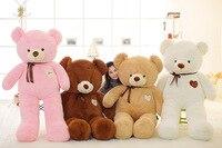 Kawaii 180 см мягкая игрушка мишка мягкие игрушки для девочек 71 дюймов плюшевые животные кукла подушка детей игрушки китайский новый год 2018 прис