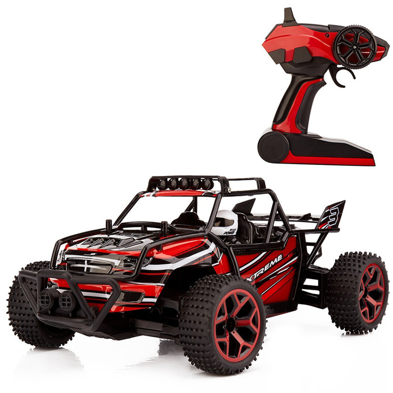 2017 new gs04b 24g 20kmh high speed fast race cars remote control electric off road truck 118 4wd rc car for kids toy gift