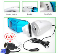 Mini Universal 60W 12V Car Vacuum Cleaner Super Suction Wet And Dry Dual Use Car Stlying