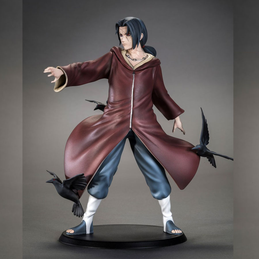 2017 New limited edition Naruto action figures Itachi Uchiwa Statue Model Naruto Tsume Figurines Itachi Collection Toys Adults цена и фото