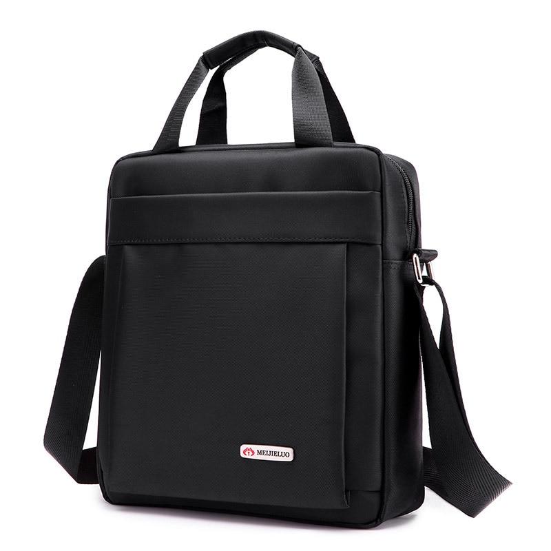 New Durable nylon Mens Crossbody Bag Casual Mens waterproof Shoulder Bags Black/Brown Leisure Brand Man Bag For iPad bag стоимость