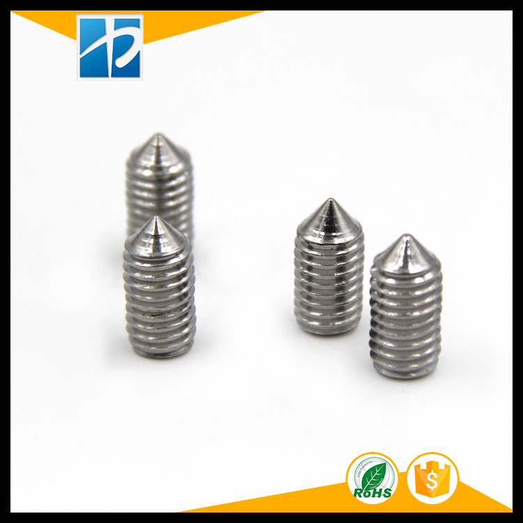 (20 PC/lot) DIN914 SUS304 M5,M6,M8 *L=4,5~50 stainless steel cone point set grub screw настенный бордюр tubadzyn l steel 6 1 5x59 8 page 11