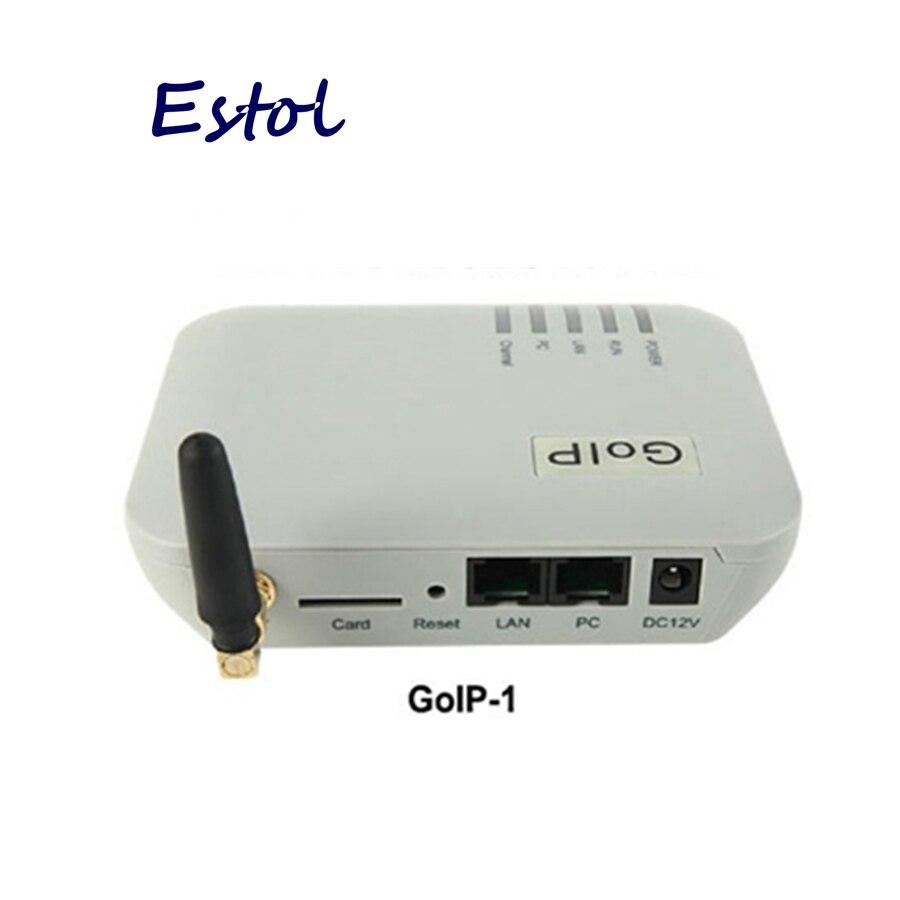 Prix pour Original DBL GOIP 1 Puce GSM Passerelle (IMEI Changement, 1 SIM Carte, un Canal SIP et H.323, VPN PPTP). SMS GSM VOIP Passerelle-Promotion des ventes