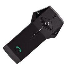 1000 м Bluetooth домофон, 3 человека соединиться с NFC, FM Радио, мотоциклетный Шлем Bluetooth-гарнитура Интерком Переговорные
