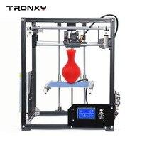 Best Tronxy X5 модель алюминиевая конструкция 3D принтеры DIY полные комплекты impresora 3d печать PLA ABS большой размер печати с 8 г SD карты
