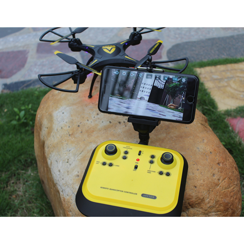 Free shipping Remote Control Toy Rc Mini  Drone With FPV Camera 6-Axis RC Helicopter Headless Quadrocopter Toys For Children wltoys q222 quadrocopter 2 4g 4ch 6 axis 3d headless mode aircraft drone radio control helicopter rc dron vs x5sw