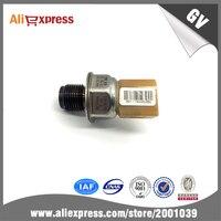 2pcs Lot Genuine Fuel Rail Pressure Sensor 55PP26 02 For Audi A3 A4 A5 A6 Q5