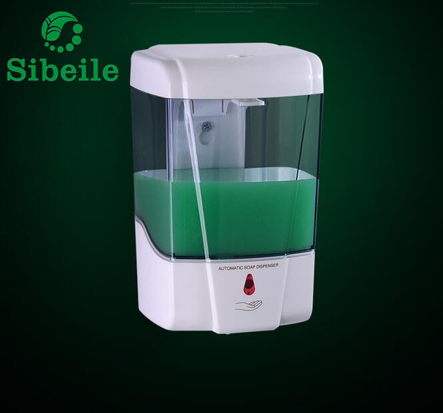 SBLE Automatic Sensor Bathroom Liquid Soap Dispenser Touchless Wall Hung  Kitchen Detergent Bath Shampoo Lotion Dispensers