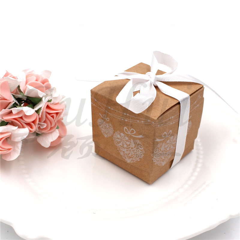I Love You More Than Quotes: European White Wedding Candy Boxes White Lace Love Heart