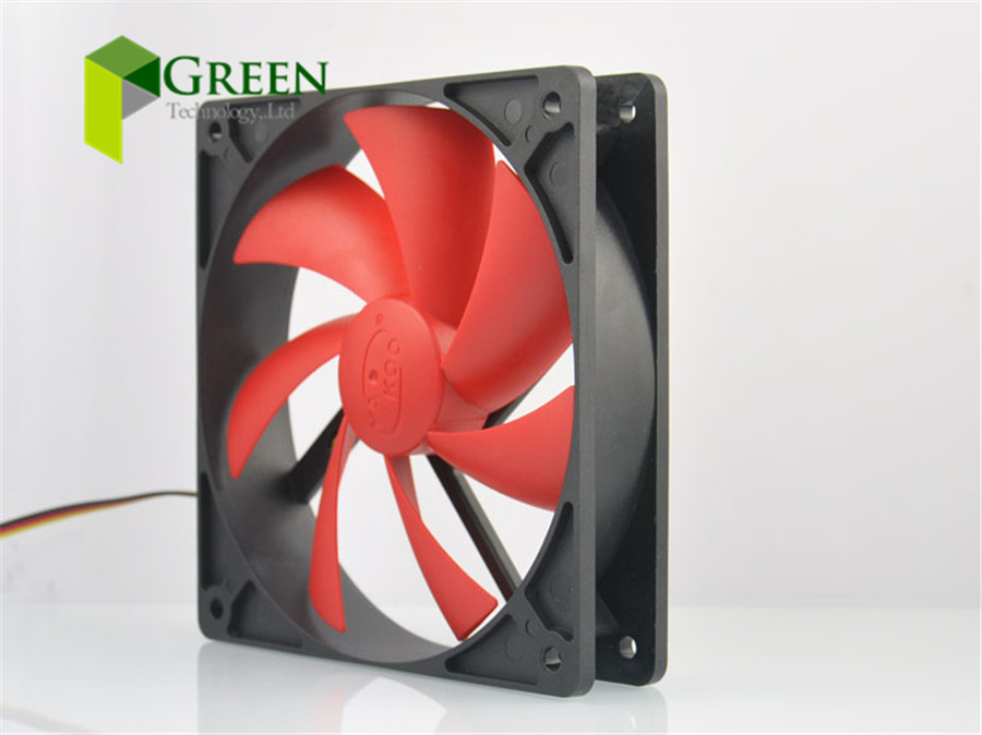 New Silent 120MM 1225 12025 120*120*25MM 12*12*2.5CM Chassis Fan Hydro Bearing Computer Case Fan 12V 3pin And 4D