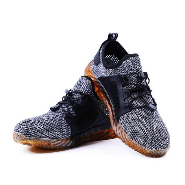 Dropshipping Indestructible Ryder Shoes Men And Women Steel Toe Air Safety Boots Puncture-Proof Work Sneakers Breathable Shoes 4