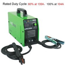 REBOOT ARC Welder  ARC-135 Welding Tool DC 220V Stick Welder 135 Amp  Welding Machine Portable Mini MMA Welder Inverter Welding inverter dc argon arc welding machine base plate with high silicon bridge arc plate clamp configuration of four new capacitance