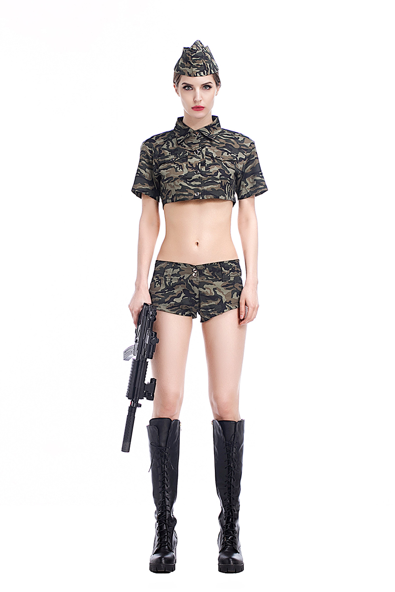 Are Sexy females in camo porn remarkable