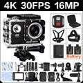 4 K 30FPS 16MP WIFI Actie Camera 2 inch Sport HD 1080P 60fps Cam onderwater deportiva gaan waterdicht 4 K 170D mini pro sport Cam