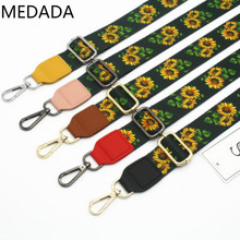 MEDADA NEW Coloured shoulder strap fittings, single strap, lady bag adjustable wide 3.8cm