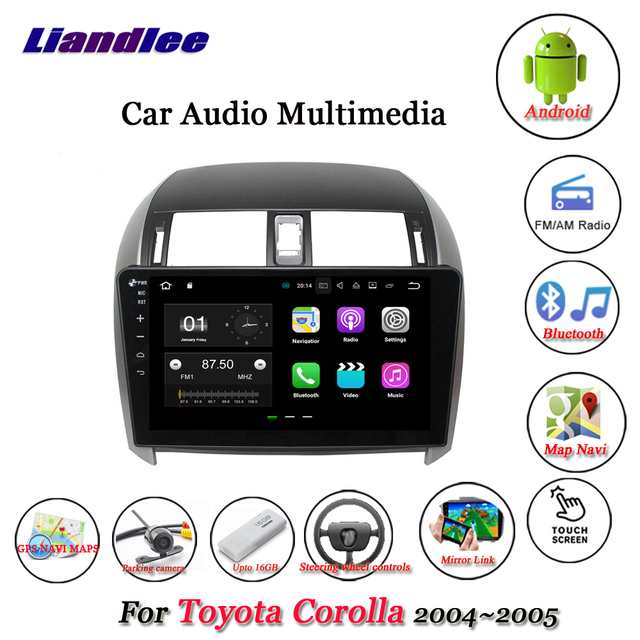 2004 toyota corolla audio system