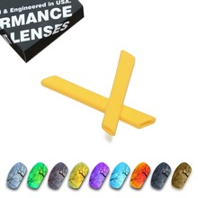 ToughAsNails Polarized Replacement Lenses & Yellow Ear Socks for Oakley Jawbone Sunglasses - Multiple Options