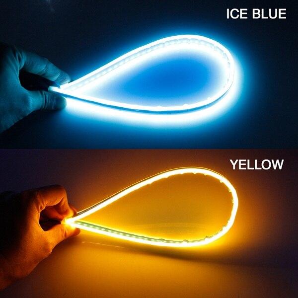 Ice Blue turn Yellow