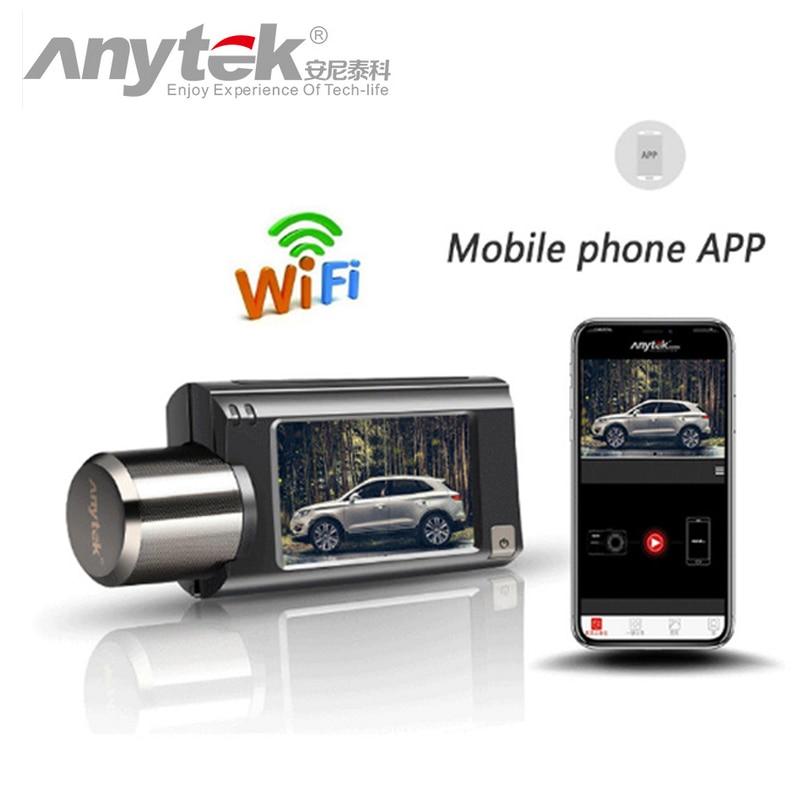Anytek G100 High End Car DVR Novatek NTK96658 1080P FHD WiFi Camera Dash Cam Registrar Video Recorder Registrator GPS Tracker-in DVR/Dash Camera from Automobiles & Motorcycles    1
