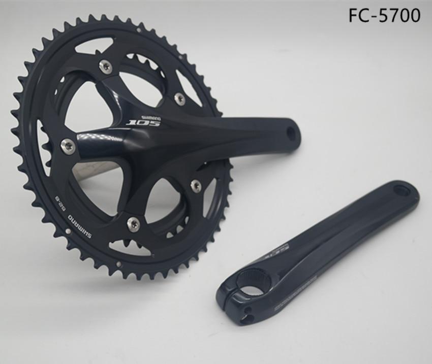 Aliexpress Com Buy Shimano 105 Fc 5700 Crankset 2 10s Road Bicycle