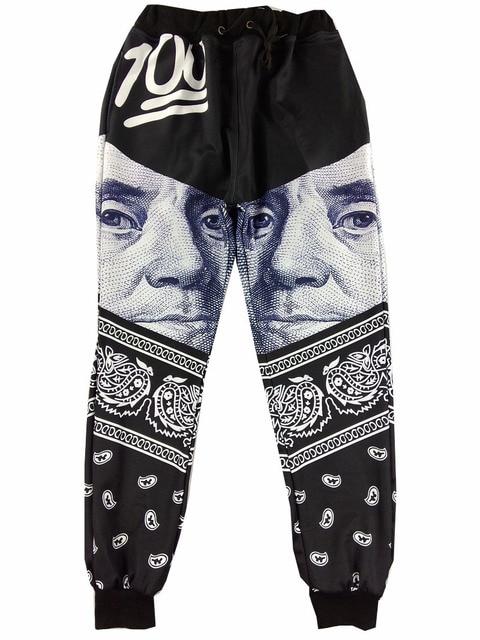 6ffbb1c50afa28 Fashion womens Emoji Jogger Pants Sport 100 Black Jogging Cartoon Track  Pants boys Harem Sweatpants Trousers jordan joggers