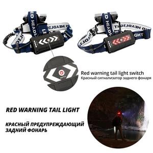 Image 3 - Süper parlak LED far kırmızı ve mavi uyarı ışıkları 21 lamba yuvası su geçirmez LED far balıkçılık avcılık için