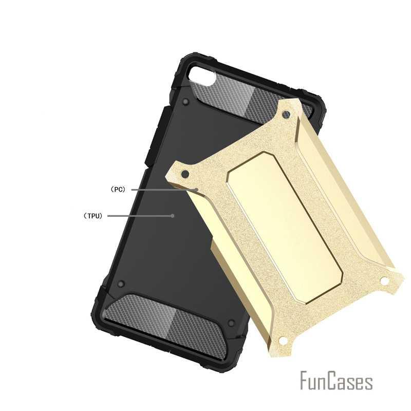 Per Huawei P8 Anti Bussare Armatura Custodia in Plastica + Tpu Caso Ibrido per Huawei Ascend P8 Sottile Duro Duro Del Telefono Cvoer borse Fundas Capa