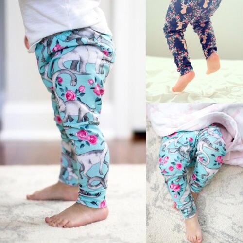 d2e0052b853d Pants Kids Baby Boys Girls Casual Harem Pants Trousers Cotton Leggings  Bottoms Clothes