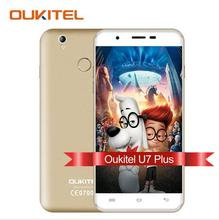 Original OUKITEL U7 Plus Android 6.0 Smartphone 5.5 inch MTK6737 Quad-Core Mobile phone 2G RAM 16G ROM 13.0MP 4G LTE Cell Phone