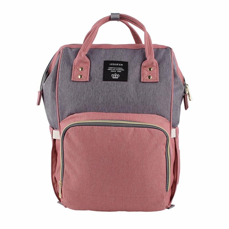 HTB10zl2bsvrK1Rjy0Feq6ATmVXaw Maternity Bag Waterproof Diaper Backpack for Mom Nappy Bags Large Capacity Baby Bag Travel Mummy bag Designer Nursing Bag