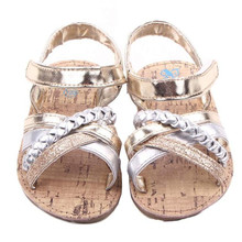 2017 New Fashion Soft Sole Baby Outdoors Sandals Toddler Princess Girls Kid Shoes Anti-Slip bowknot Shoes