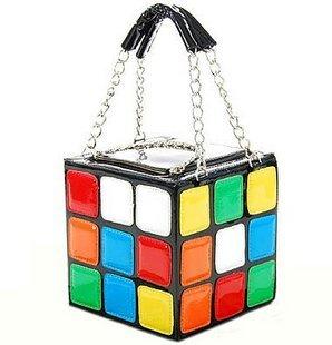 2010 New Fashion design, Magic Cube bag, Tote bag, lady