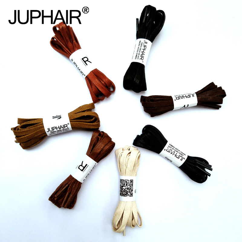 JUP 1 Pair New Flat Waxed Unisex Shoelaces Dress Canvas Shoe Lace Sneaker Boots Cotton Shoes Laces Unisex Strings Shoelace Color mr niscar 10 pair width 0 8cm thick 0 2cm flat waxed shoelaces wax cotton shoe laces strings for leather shoes boots lace rope