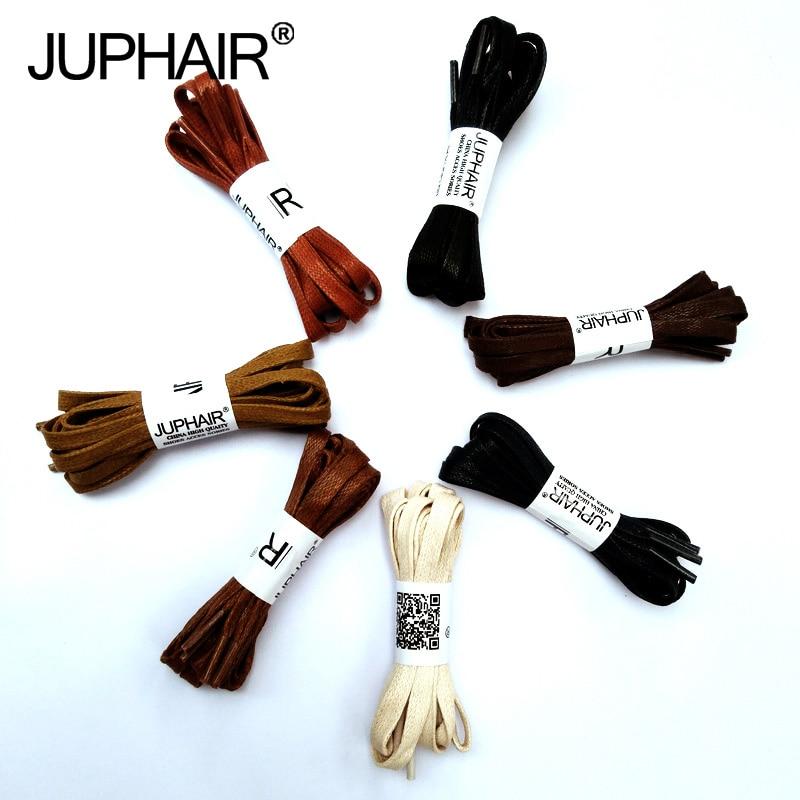 JUP 1 Pair New Flat Waxed Unisex Shoelaces Dress Canvas Shoe Lace Sneaker Boots Cotton Shoes Laces Unisex Strings Shoelace Color