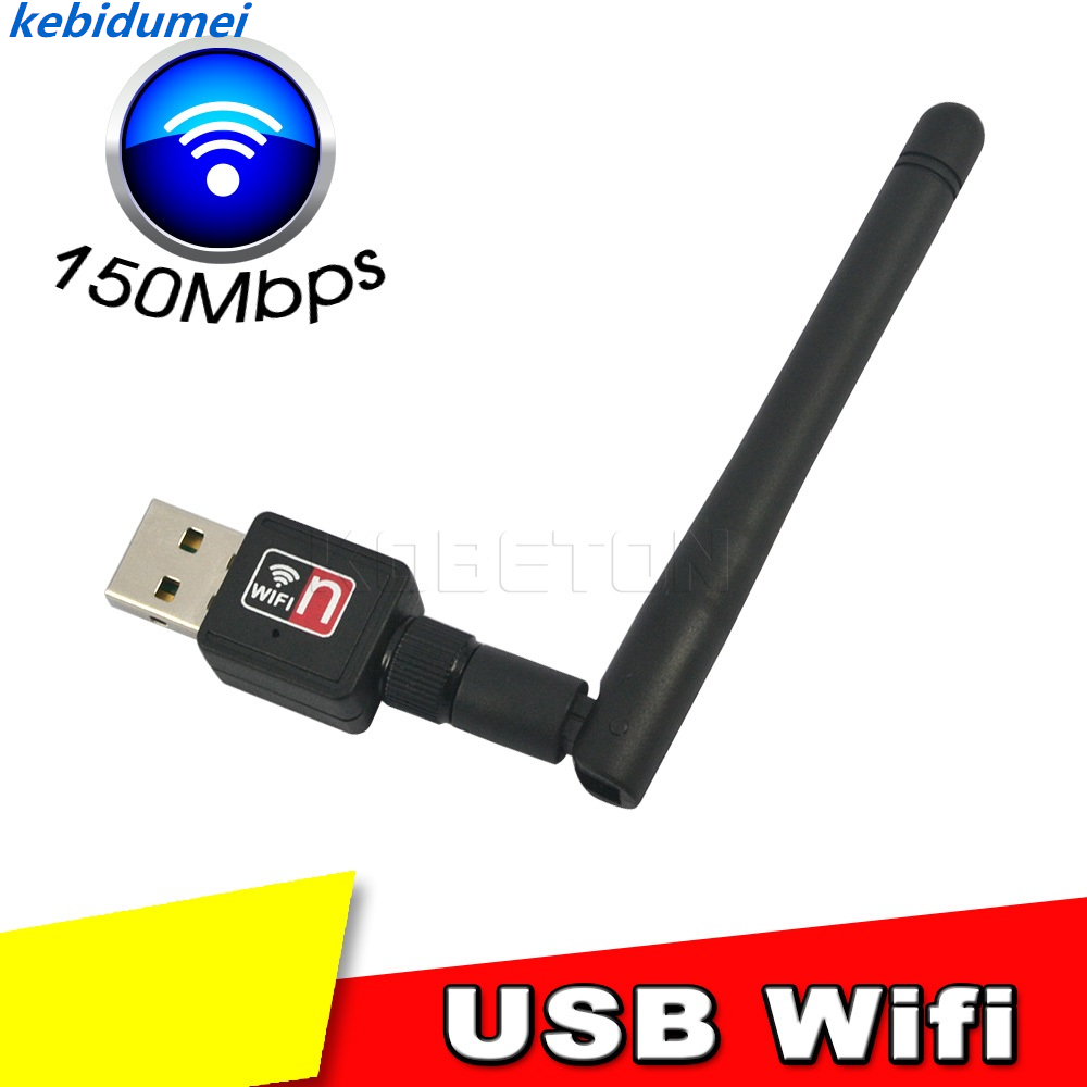 Networking Kebidumei 2018 Neue Mini Usb Wifi Lan-karte Wireless Computer Netzwerk Adapter 150 Mbps 802.11b/n/g 2dbi Netzwerk Karte Mit Antenne