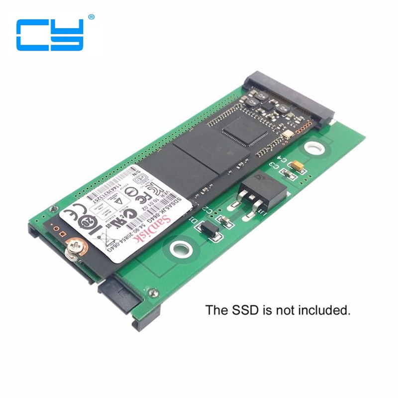 SATA 22P 7+15 to MSATA Mini PCI-E PCBA Assembly only for UX31 UX21 XM11 SSD Solid State Disk  low profile half height 50mm mini pci e msata ssd to 7mm 2 5 sata 22pin hard disk drive hdd pcba