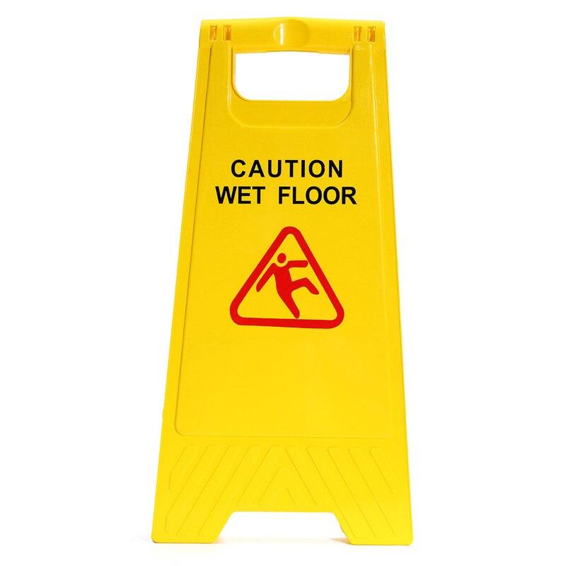 Slippery floor hazard meze blog for Floor banner