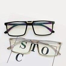69ba136e3ddc1c 2018 mode Flache top Männer Brille Rahmen Frauen Brillen Rahmen Vintage  Platz Klare Linse Gläser Optische Spektakel Rahmen