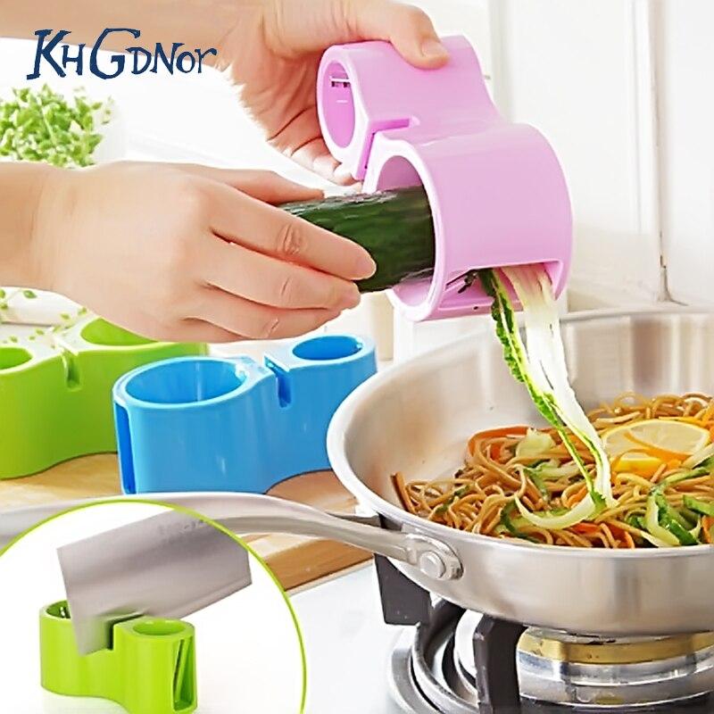 KHGDNOR многофункциональная спиральная Терка с 2 боковыми терками для овощей, моркови, огурец, нож, точилка для салата, кухонный инструмент