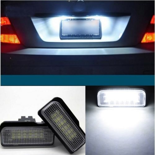 где купить  2x Xenon White License Plate LED Light No Error For Mercedes Benz W203 W211 W219  дешево