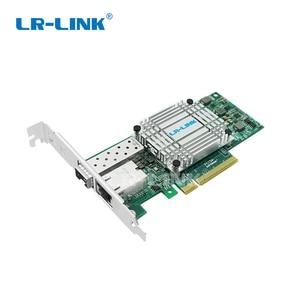 Image 4 - LR LINK 4001PT PF dual port 10Gb Ethernet PCI E Optic Network Card SFP+ ,RJ45 ,Fiber Media Converter three in one combination