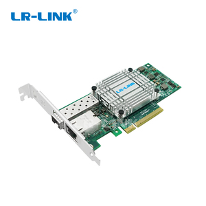 """Image 4 - LR LINK 4001PT PF podwójny port 10 Gb Ethernet PCI E światłowodowe karta sieciowa SFP +, RJ45, konwerter światłowodowy """"trzy w jednym"""" połączenie"""