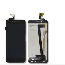 For ZTE Blade A460 L4 New Black White Touch Screen Digitizer Glass Sensor LCD Display Panel