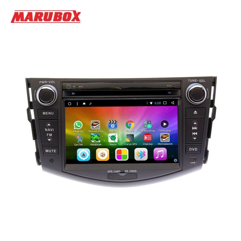 MARUBOX 7A106DT3 Android 7.1 Voiture Lecteur Multimédia Stéréo Pour TOYOTA RAV4 DVD/Bluetooth/Radio/Audio Mirrorlink Capacitif
