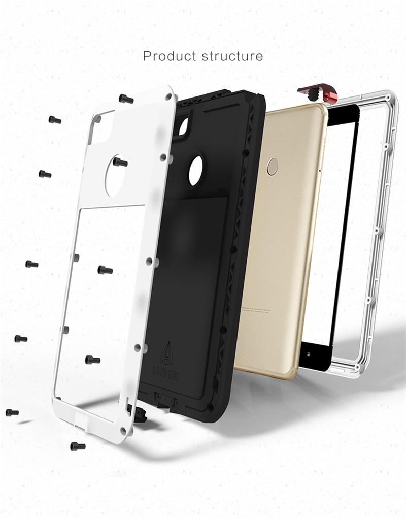 LOVE MEI Aluminum Metal Case For Xiaomi Mi Max 2 (7)