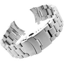 Stainless Steel Watchband for Casio EFR526 Men Women Watch Band Wrist Strap Bracelet 22mm