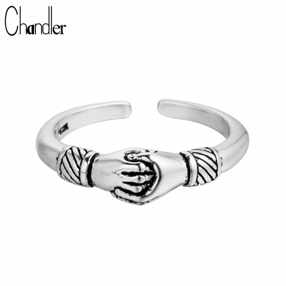 New Music Note anneaux argent sterling 925 Femme Fashion Party Jewelry